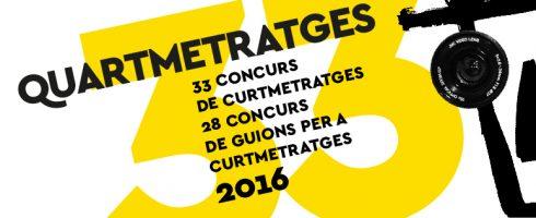 Quartmetratges 33 edición.